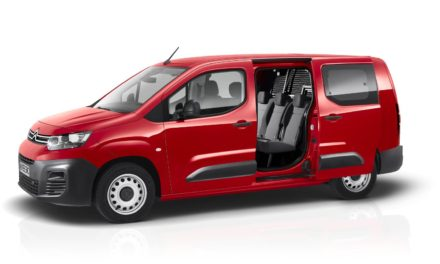 AWARD-WINNING NEW CITROËN BERLINGO VAN RANGE EXTENDED WITH VERSATILE CREW VAN VERSIONS