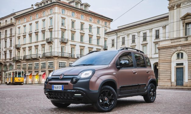 TWO ITALIAN ICONS JOIN TOGETHER TO CREATE THE FIAT PANDA TRUSSARDI