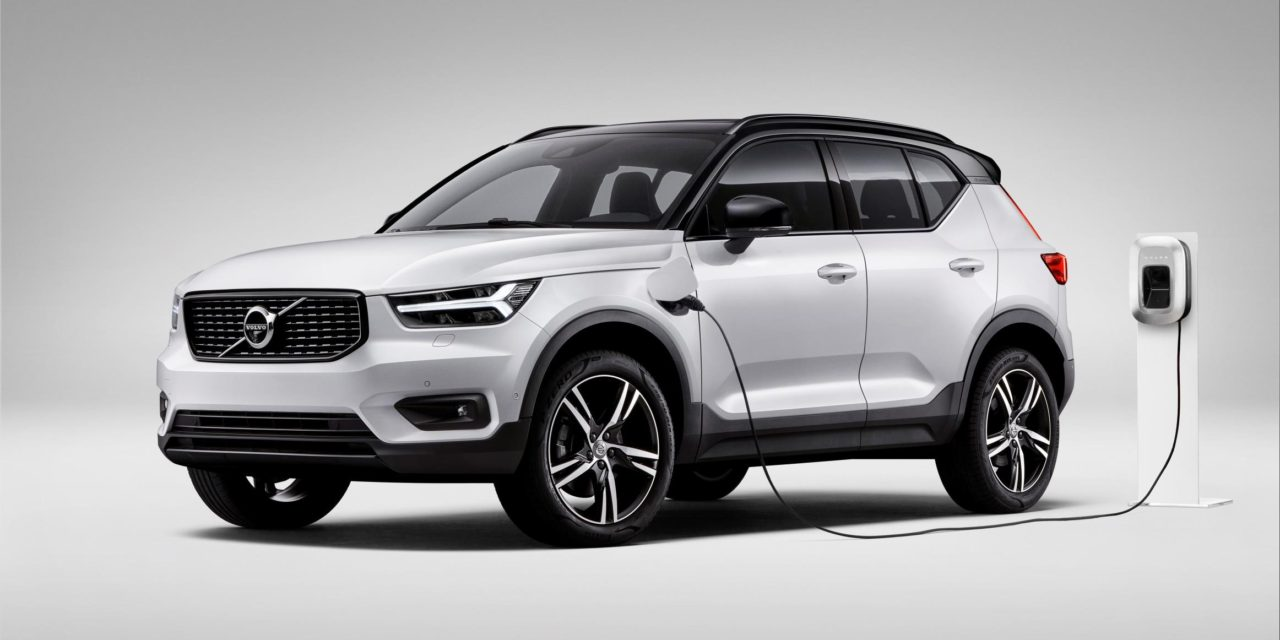 VOLVO BECOMES FIRST CAR MAKER TO OFFER PLUG-IN HYBRID VERSIONS OF FULL MODEL RANGE WITH LAUNCH OF XC40 T5 TWIN ENGINE