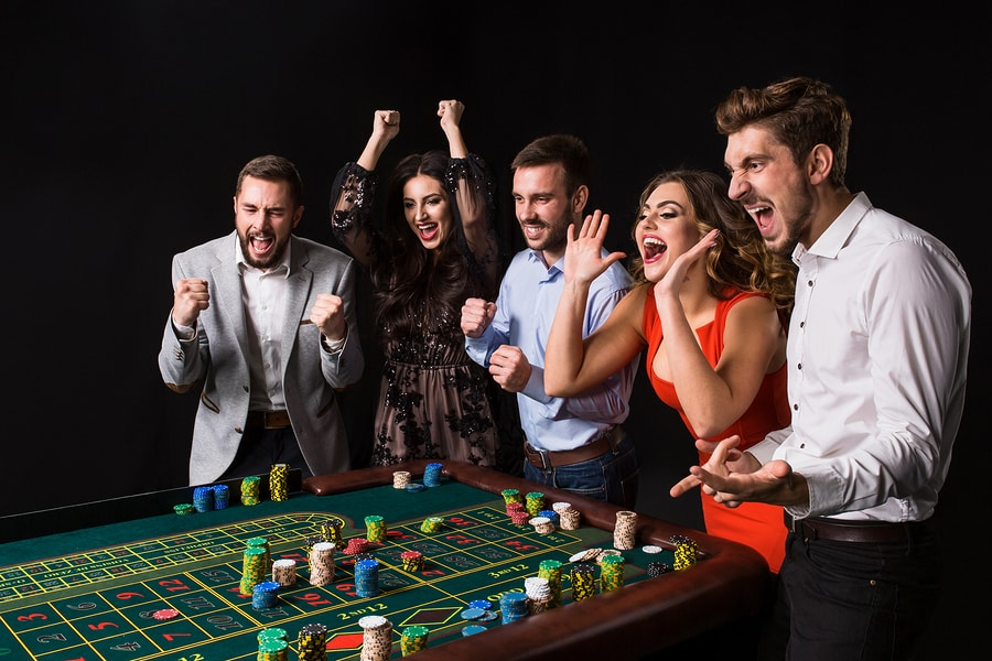What are casino night events?
