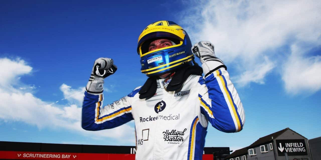 Stokesley's Scott Seals Ginetta Sportscar Spoils At Donington