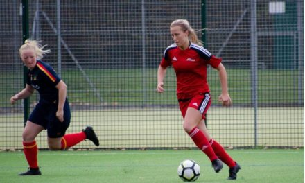 Northumbria student nets leadership role in women's football