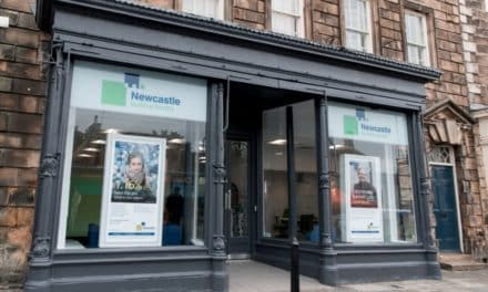 Doors Open At Newcastle Building Society's New Barnard Castle Branch
