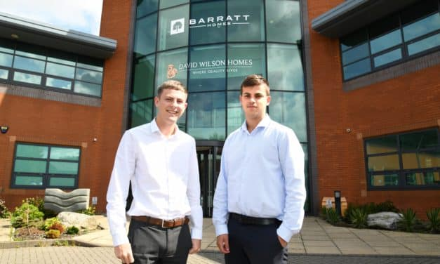Building careers! Barratt Developments North East supports local students with apprenticeship scheme
