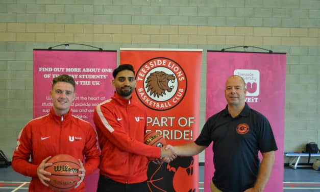 New Era Dawns For Teesside University With Lions Partnership