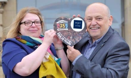 Port of Tyne delighted to support The Customs House in its 25th anniversary year