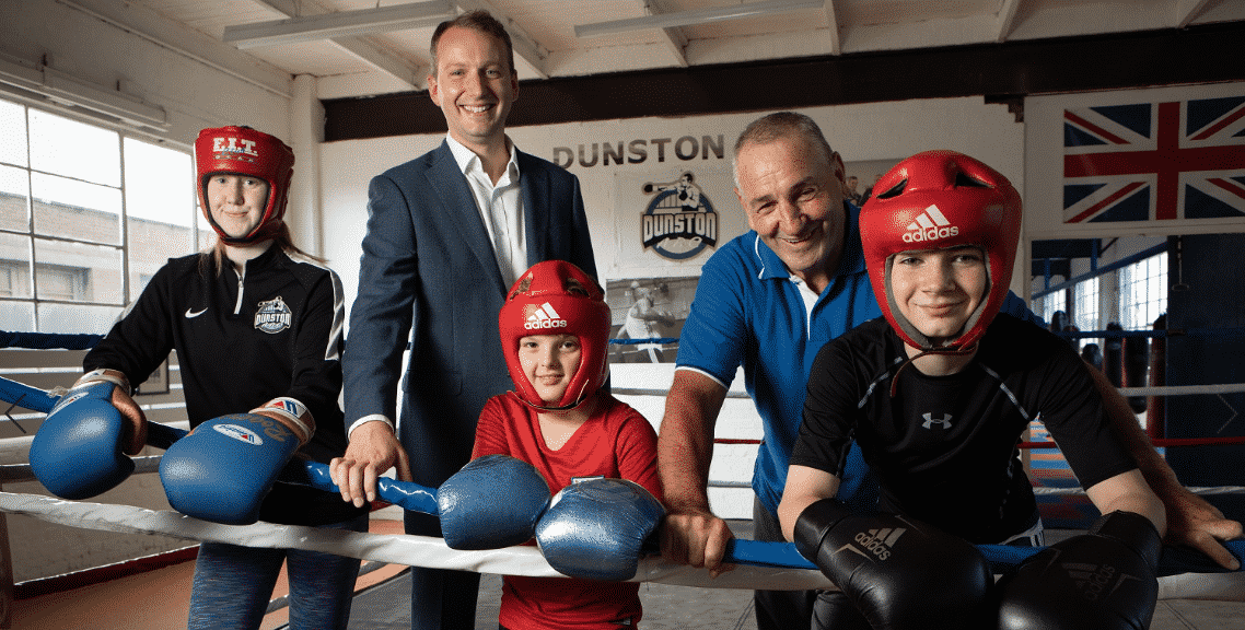 Dunston Boxing Club expands into new premises