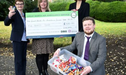 Darlington accountancy firm supports Great North Air Ambulance
