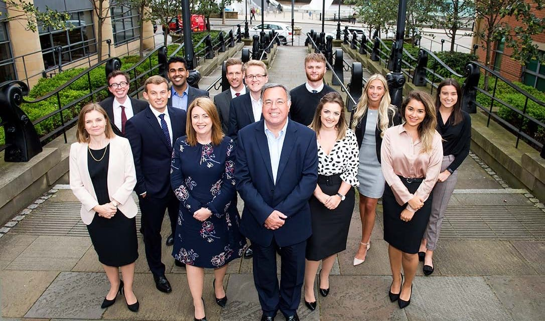 Talented trainees join award winning law firm Ward Hadaway