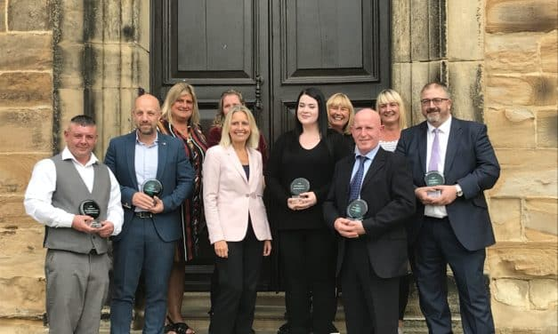 Long standing charity presents awards for crime reduction in the north east