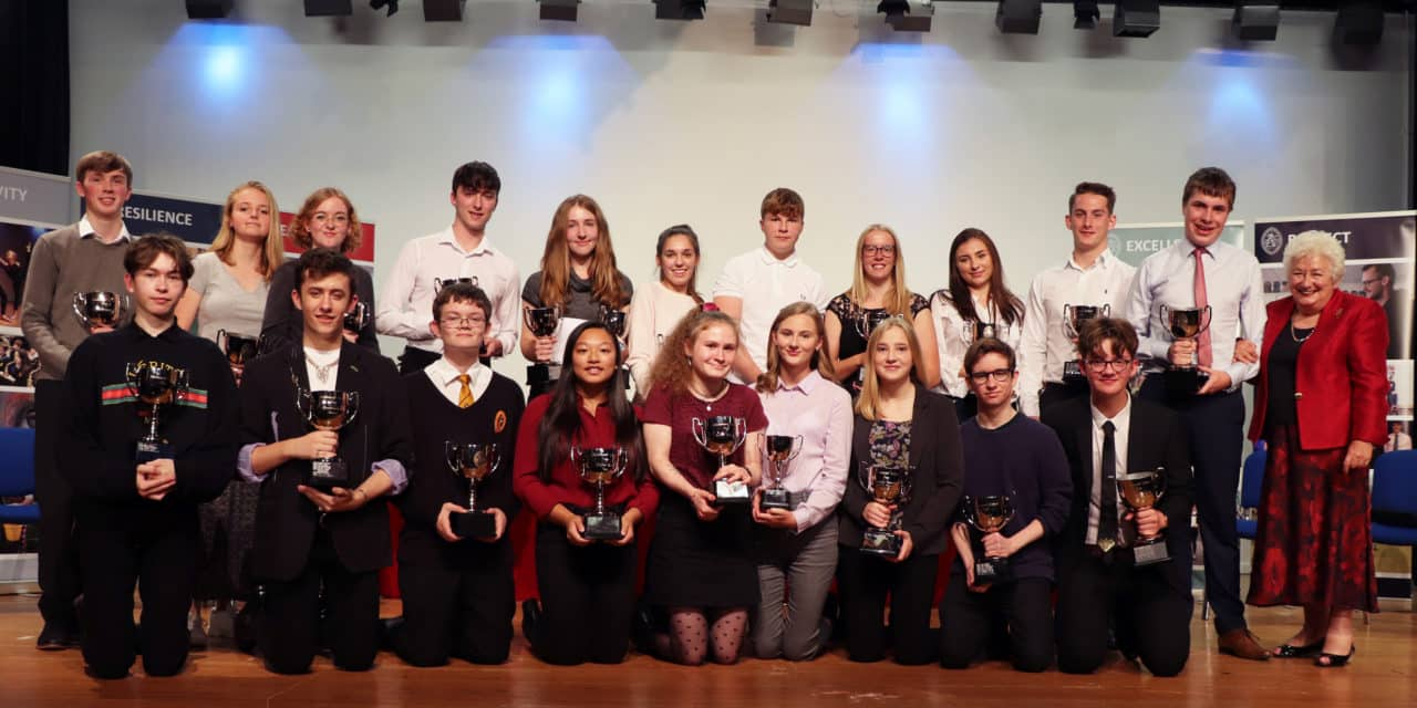 Baroness Harris rewards excellence at Richmond School's annual awards