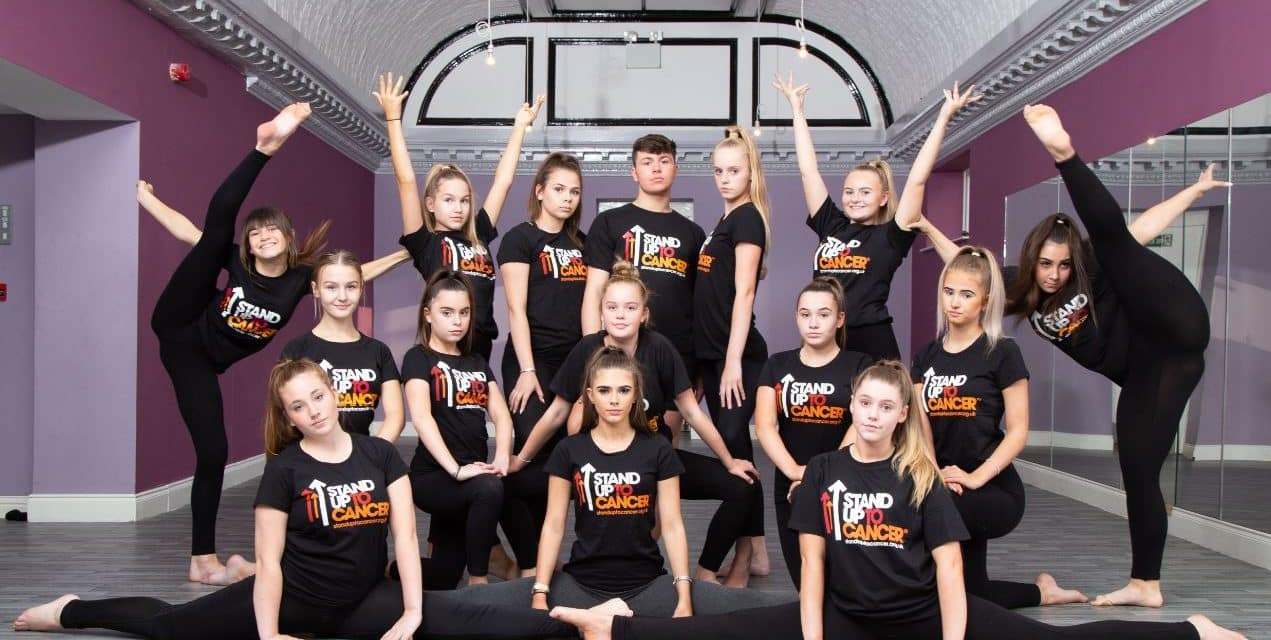 CONSETT DANCERS MAKE A STAND AGAINST CANCER