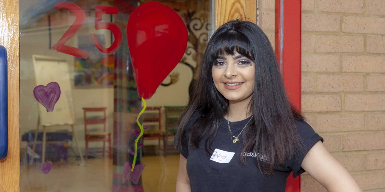 Extra birthday gift for charity as it is shortlisted for major award