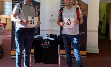 Four-Figure Sum Raised For Samaritans By Lewis And George's Ultra Run