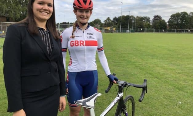 Ripon Grammar GB Team cyclist juggles schoolwork with World Championships