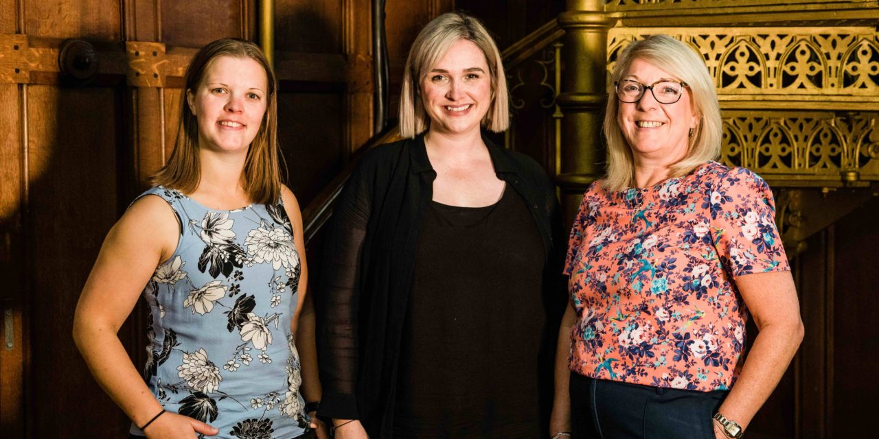 Three new members of staff join The Common Room