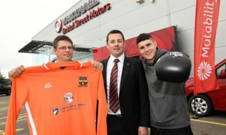 Back of the net or in the ring – Bristol Street Motors Vauxhall Newcastle has local sports covered