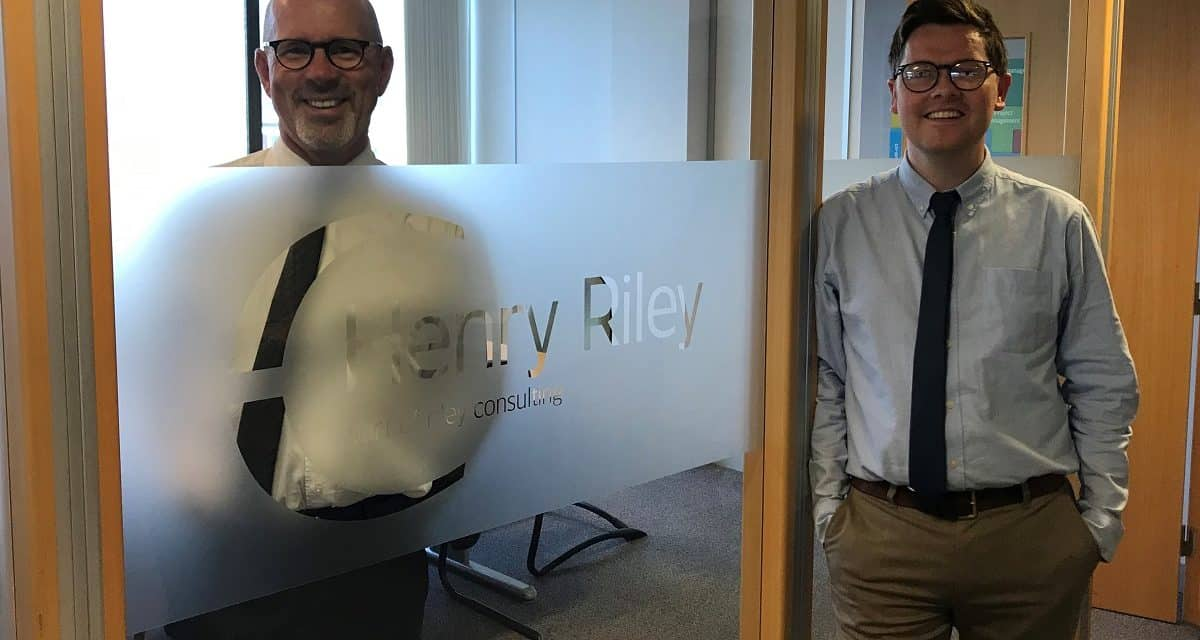 Changing of the guard at property consultancy Henry Riley