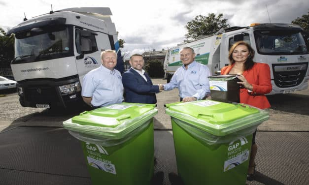 New partnership clears food waste to turn it into green energy for the region