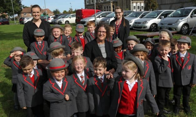 Children and new school leader start their education journey at Christ's College