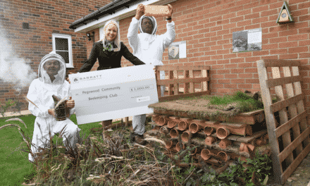 Barratt Homes North East supports the bees with community funding initiative