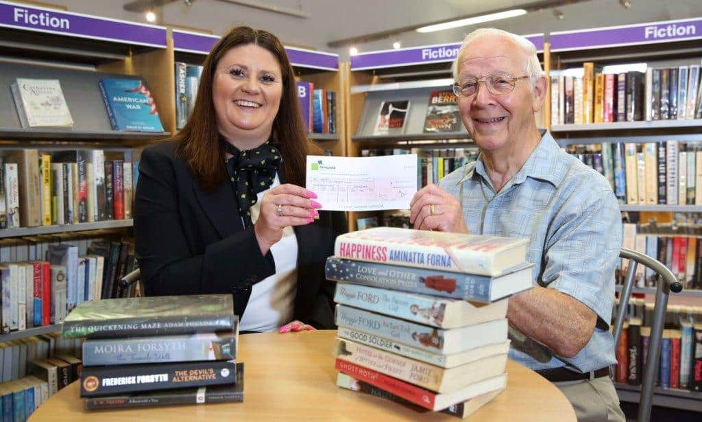 Newcastle Building Society provides much-needed support to volunteer-run library in Stokesley