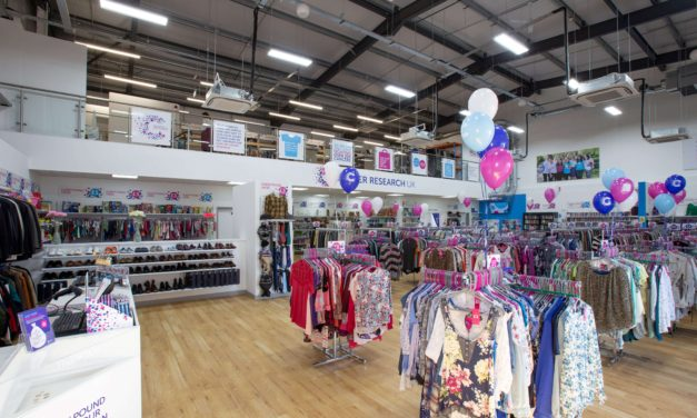 Cancer Research UK Sunderland Superstore extends its range for birthday celebrations