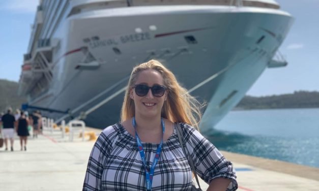 Caribbean dream job for Suzanne