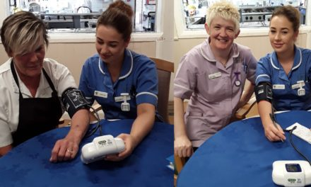 Blood Pressure Awareness Day marked at Blyth care home