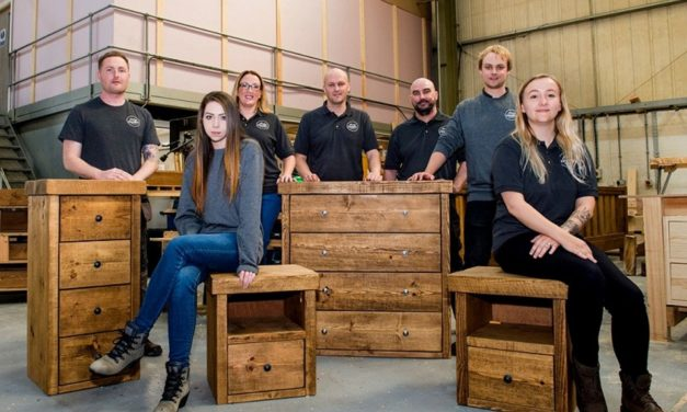'Funky' North East furniture brand to exceed £1.6m turnover
