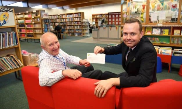 Whickham Library teams up with Newcastle Building Society