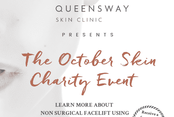 Queensway Skin Charity Event – Thursday 10th October at Wynyard Golf Club
