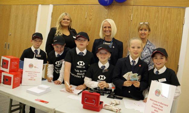 Pupils bank on learning about money