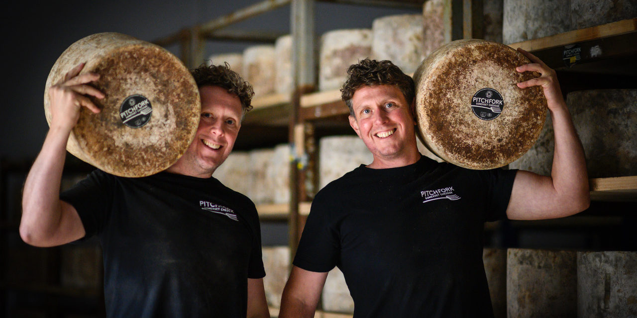 Paxton & Whitfield's Cheese of the Month for August: Pitchfork