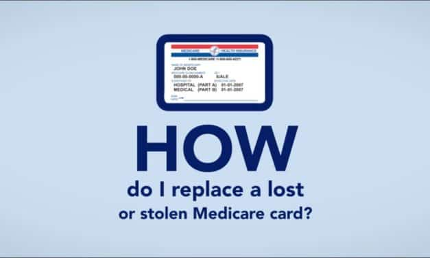 What To Do If A Medicare Card Is Lost, Stolen, Or Damaged