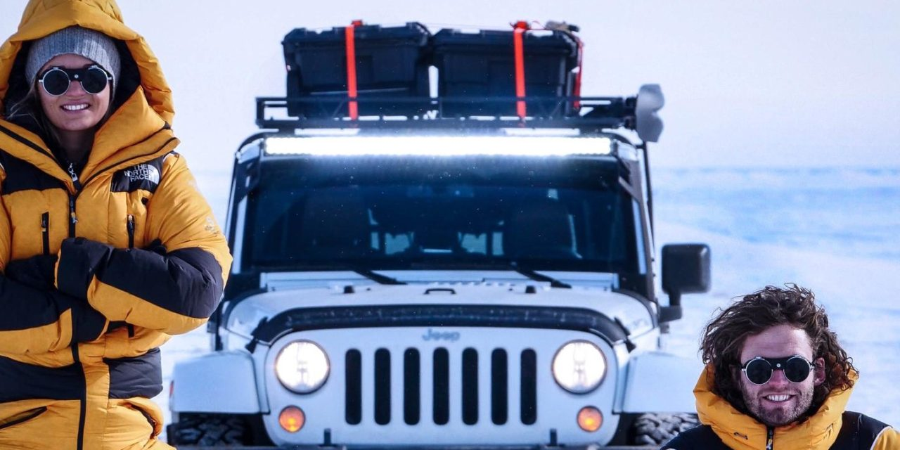 AROUND THE WORLD IN A JEEP WRANGLER WITH EXPEDITION EARTH AT MOTOR VILLAGE UK