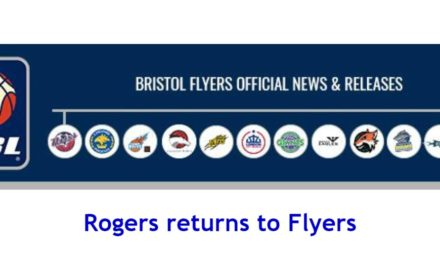 Rogers returns to Flyers