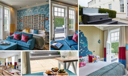Seaham Hall celebrates the launch of its NEW hot tub suites – tantalising escape from £198 pp