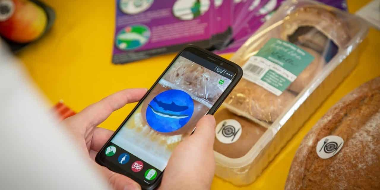 Edible code set to revolutionise weekly food shop