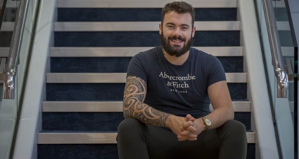World Mental Health Day: Paralympian poster boy who tried to take his own life
