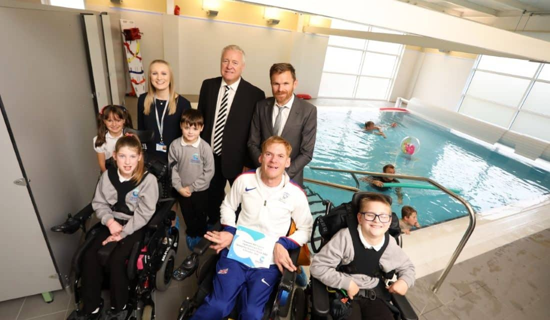 Northumberland SEND school launches state-of-the-art hydrotherapy pool