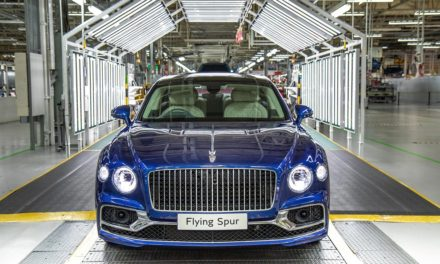 PRODUCTION OF ALL-NEW BENTLEY FLYING SPUR NOW UNDERWAY