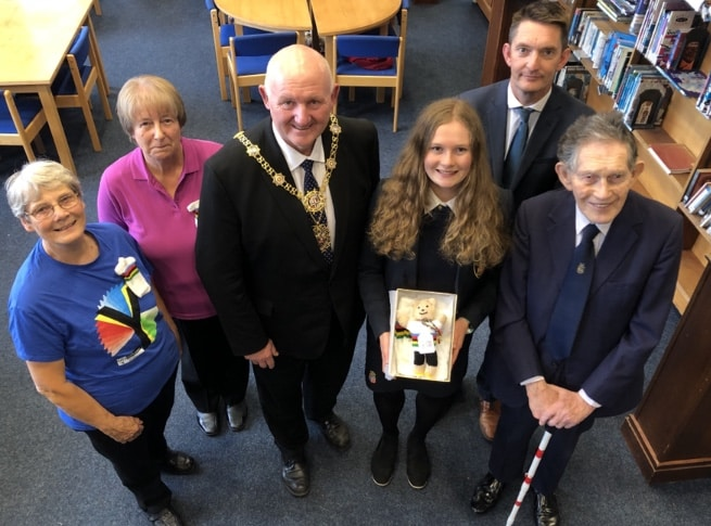 Ripon Grammar teen cyclist praised as an inspiration to young people