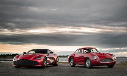 ASTON MARTIN DBZ CENTENARY COLLECTION MAKES WORLD DEBUT AT INAUGURAL AUDRAIN'S NEWPORT CONCOURS