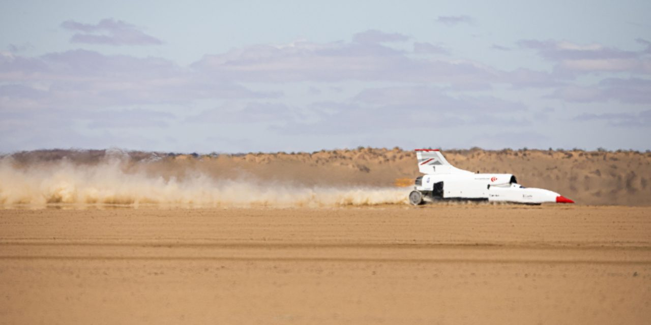 BLOODHOUND LSR ACHIEVES ITS FASTEST EVER SPEED AS TESTING PROGRAMME HEATS UP