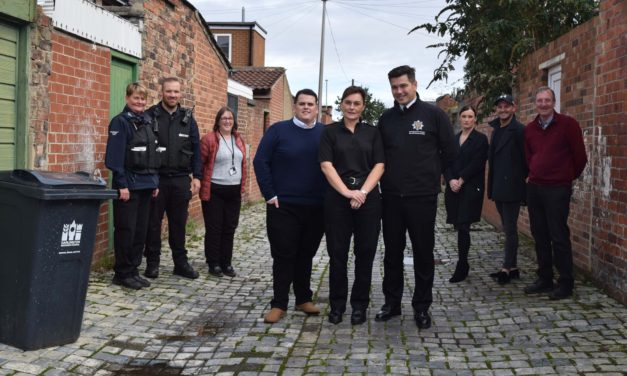 New initiative launched to keep back streets of Darlington rubbish free
