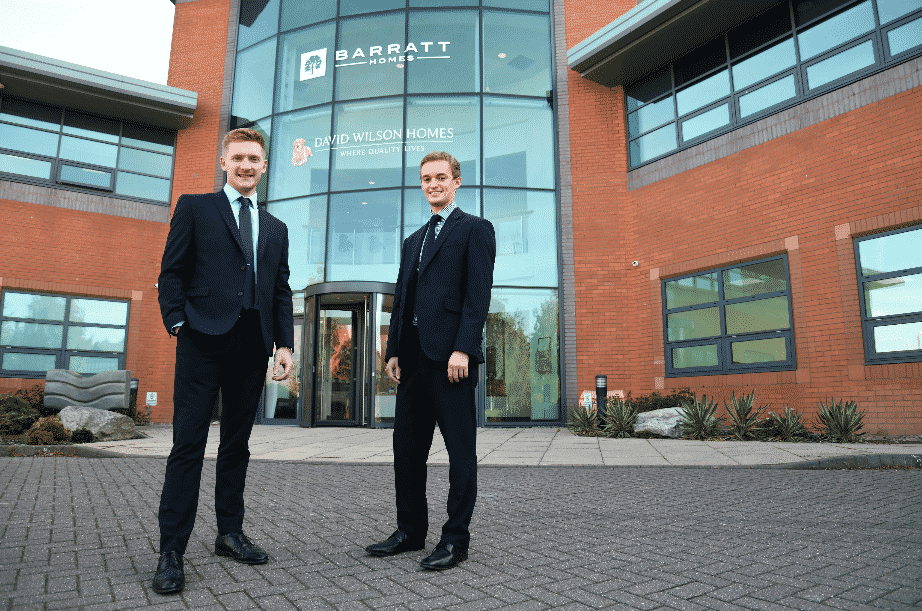 Building careers! Barratt Developments North East celebrates graduate scheme success