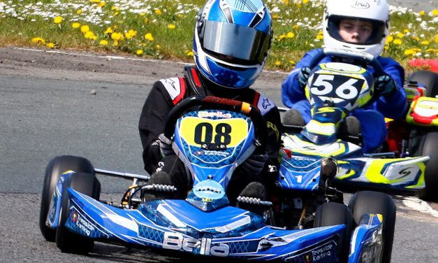 Bella, 12, on the road to motor racing stardom
