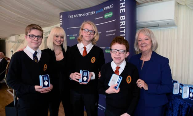 Richmond students celebrated with British Citizen Youth Awards