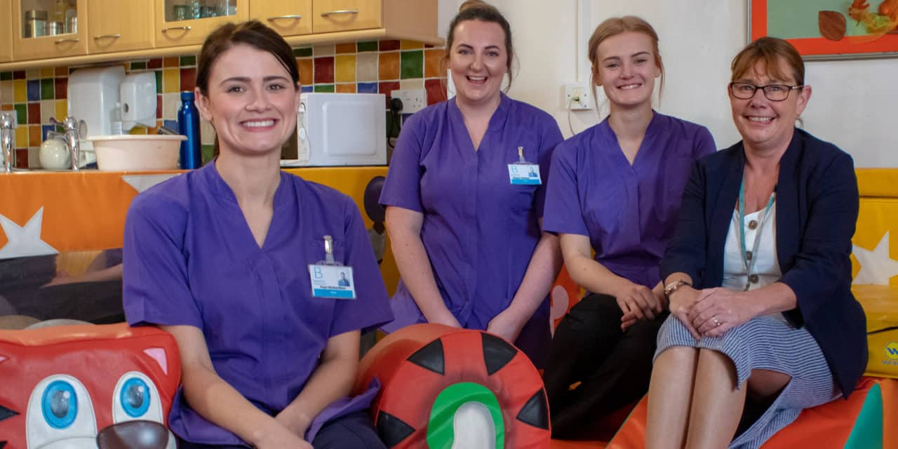 Children's hospice re-opens with new team